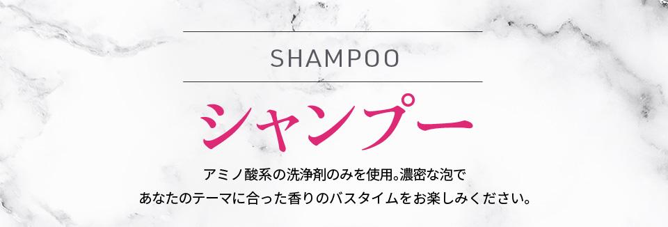 シャンプーアミノ酸系の洗浄剤のみを使用